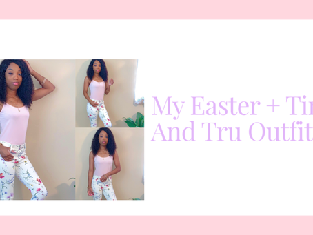 My Easter + Time And Tru Outfit