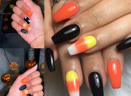 Halloween Inspired Nails