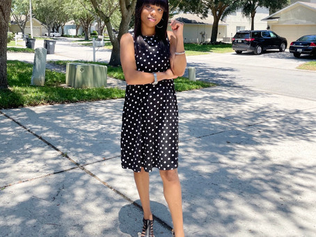 I'm Back|Time And Tru Dress Perfect For The Season