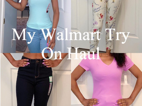 My Walmart Try On Haul