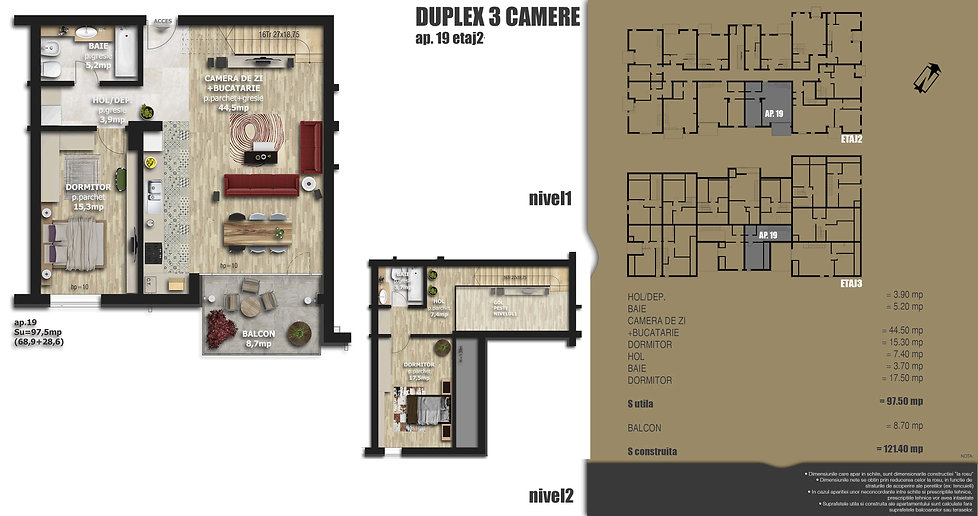 Galaxy Residence Brasov centru apartament 19