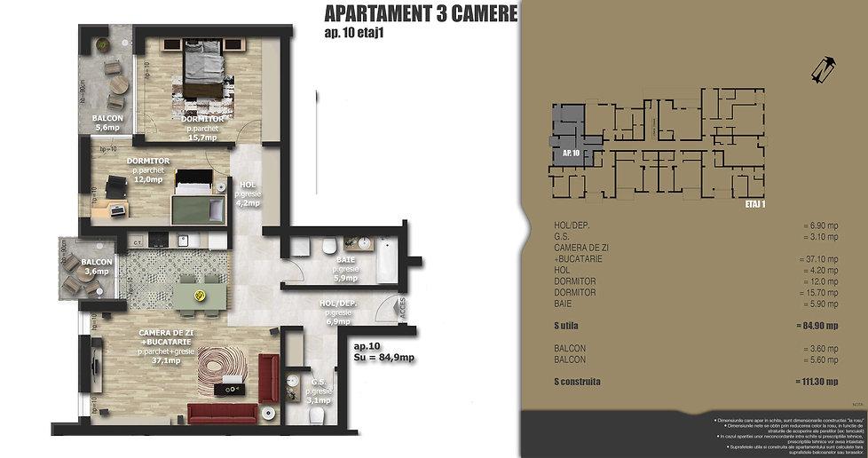 Galaxy Residence Brasov centru apartament 10