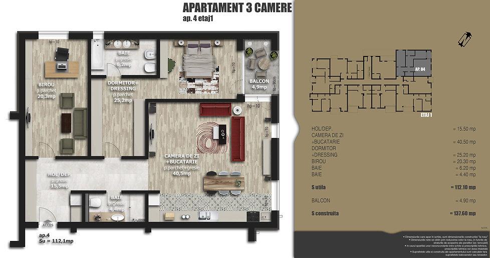 Galaxy Residence Brasov centru apartament 4