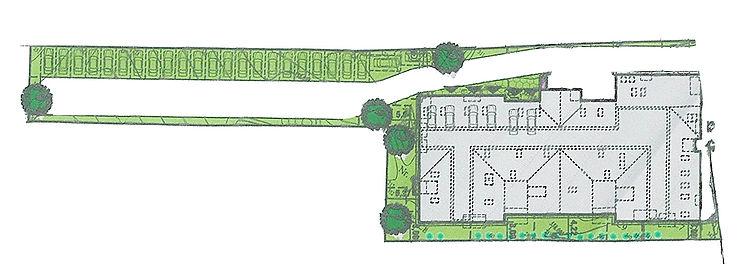 Galaxy Residence Brasov vegetatie natura spatii verzi