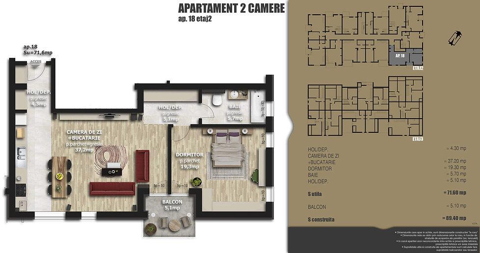 Galaxy Residence Brasov centru apartament 18