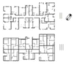 Galaxy Residence, apartamente, lux, brasov, centru, central, noi, imobiliare, plan, etaj 2