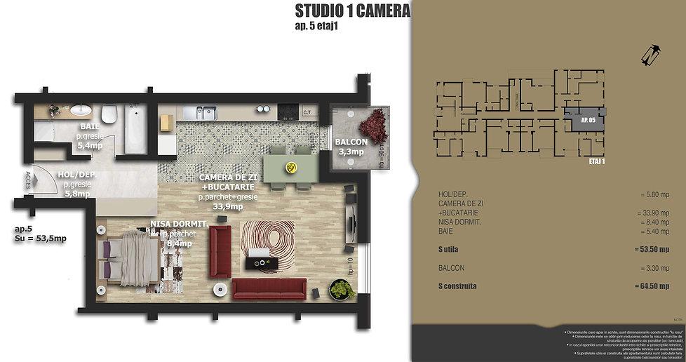 Galaxy Residence Brasov centru apartament 5