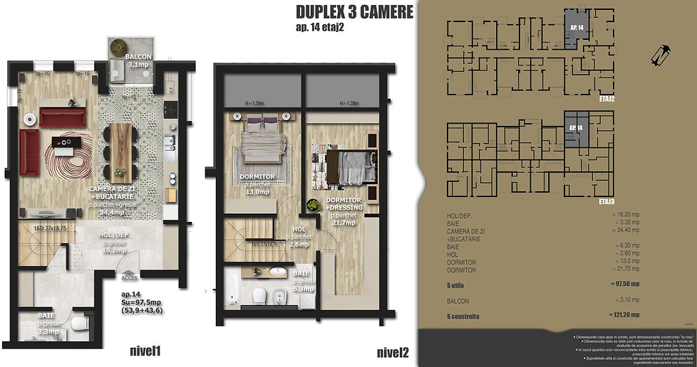 Galaxy Residence Brasov centru apartament 14