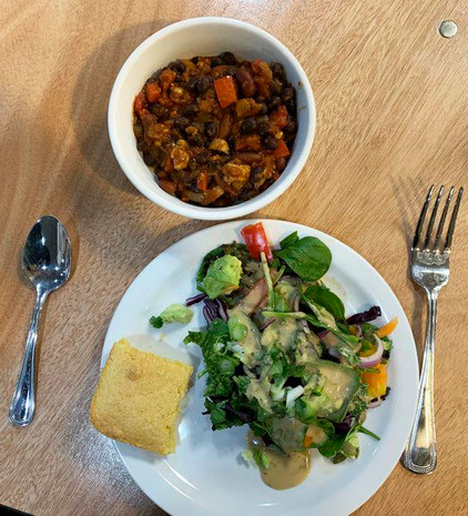 'Cooking with Doc' Does a Quick, Hearty, Healthy Meal