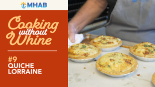 Cooking Without Whine: Trevor's Quiche Lorraine