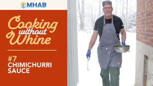 Cooking Without Whine: Chimichurri Sauce
