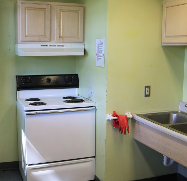 MHAB Dorm Kitchen