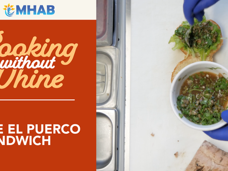 Cooking Without Whine: El Puerco Sandwich