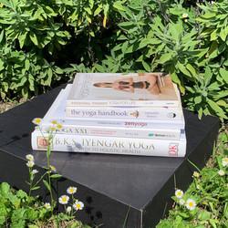 Yogazamene book selection