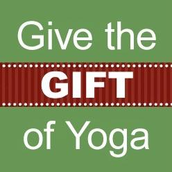 Give the gift of yoga yogazamene