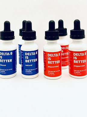 DELTA 8 IS BETTER – 1000MG TINCTURE