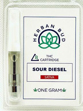 Herban Bud Delta 8 THC Cartridge