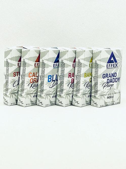 DELTA EFFEX Delta 8 THC Cartidges