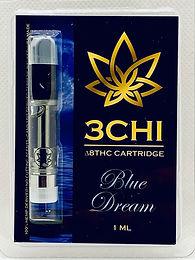 3 CHI (Sativa) Delta 8 THC Vape Cartridge - (CDT)