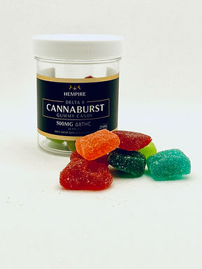 Delta 8 THC Cannaburst-500 mg (Hempire)