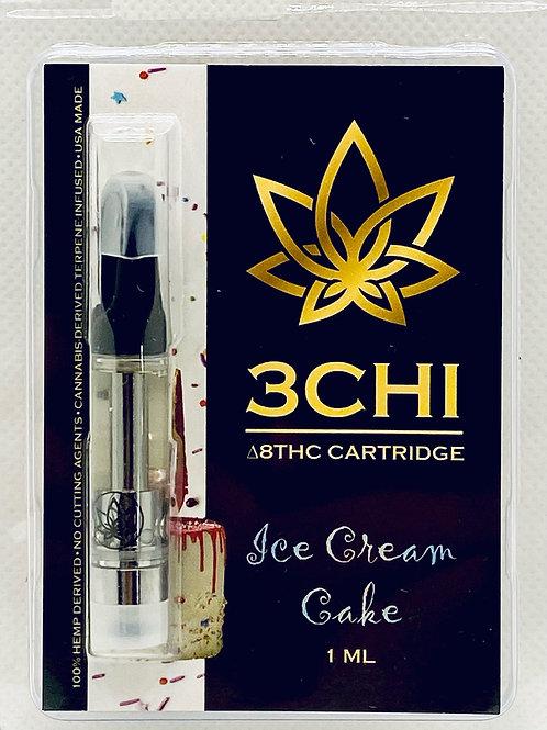"3 CHI Delta 8 THC Vape Cartridge -""Ice Cream Cake ""- (CDT)"