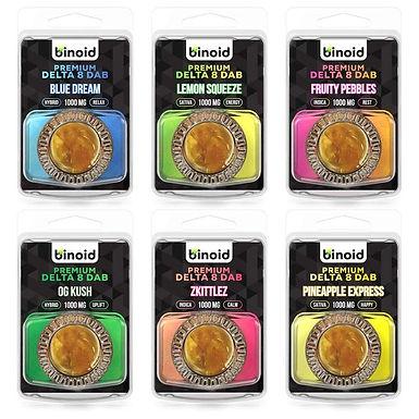 BINOID DELTA 8 THC WAX DABS