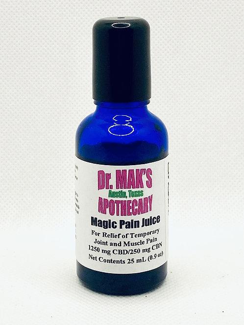 Dr. Maks Magic Pain Juice (Delta 8 THC/CBN/CBD Topical)