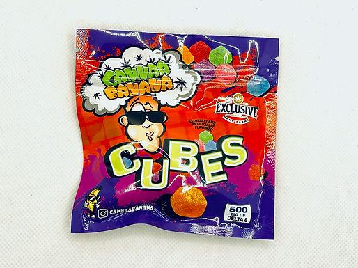 """CANNAA BANANA Delta 8 THC """"Cubes"""""""