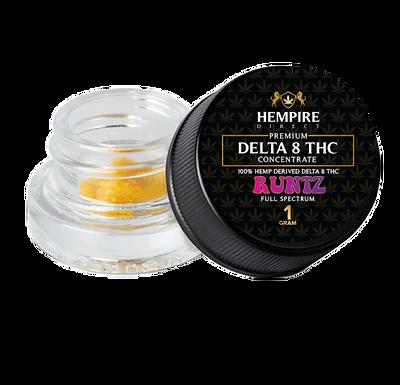 DELTA 8 THC DABS DIAMONDS - 1 GRAM (Hempire Direct)