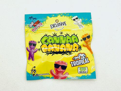 "CANNAA BANANA Delta 8 THC ""Tropical"""