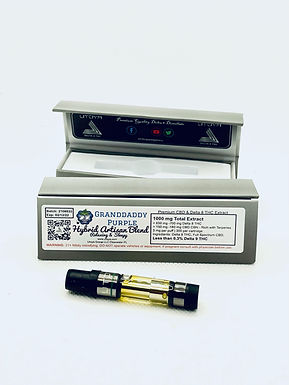 """Full Spectrum"" Delta 8 CBD Vape – 800 MG D8 / 200 MG CBD & Terpenes"