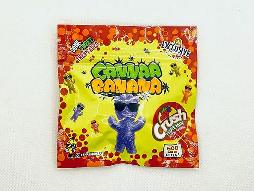 "CANNAA BANANA Delta 8 THC ""Crush Fruit Mix"""
