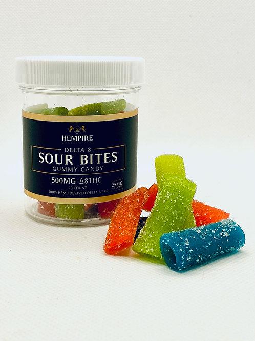 Delta 8 THC Sour Bites-500 mg (Hempire)
