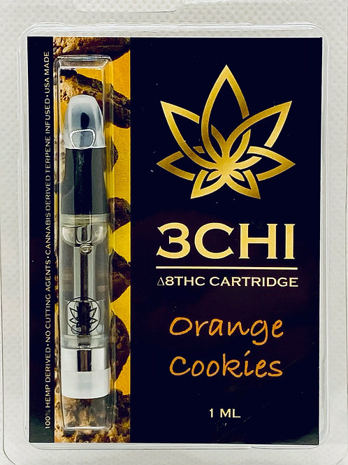 "3 CHI Delta 8 THC Vape Cartridge -""Orange Cookies""- (CDT)"