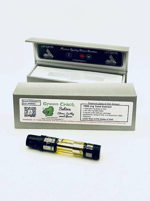 Delta 8 Vape Cartridge: 1 Gram-Utoya
