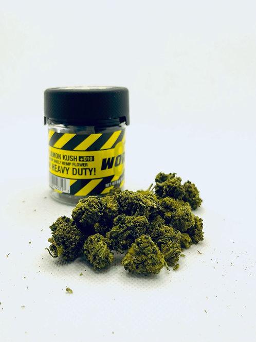 Work Delta 8 THC + D10 Flower – Gods Gift Lemon Kush 5g