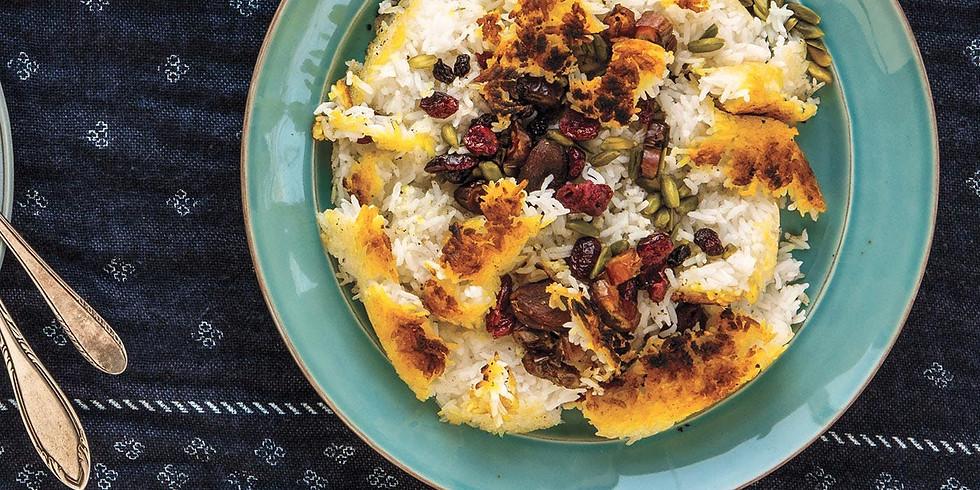 Sephardic Learning Kitchen - Persian Rice with Tahdeeg, with Rita Sikavi