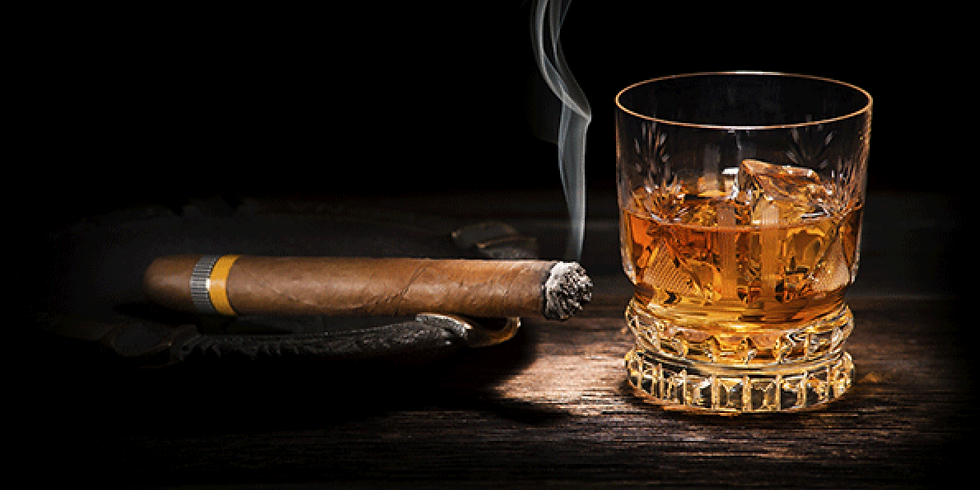 Cigars, Scotch, Snacks & Socializing - EB Men's Event