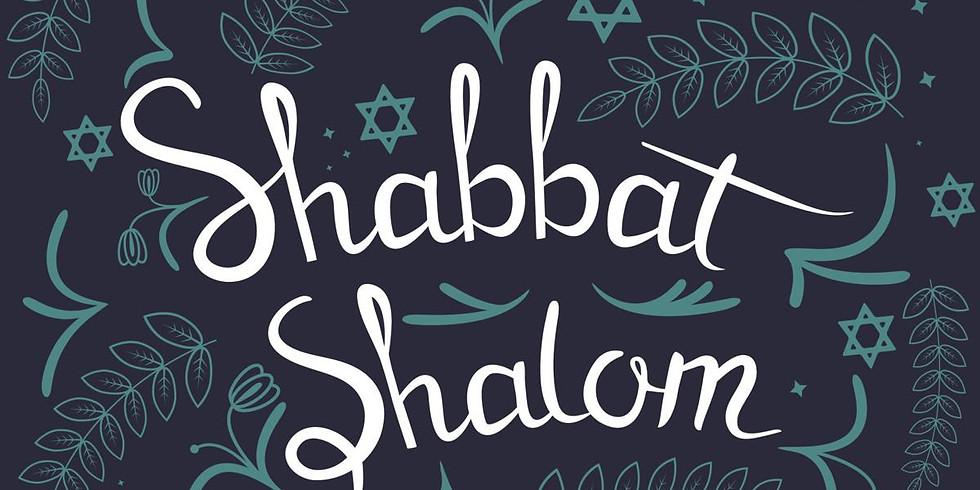 in person AM Shabbat services, June 12