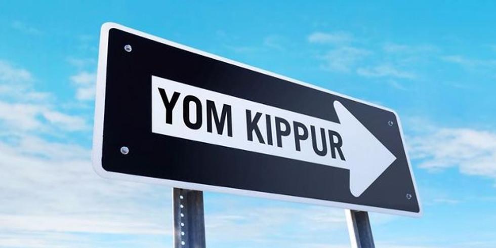 Yom Kippur am 9/28/20