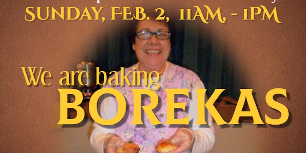 Sephardic Learning Kitchen:  Borekas