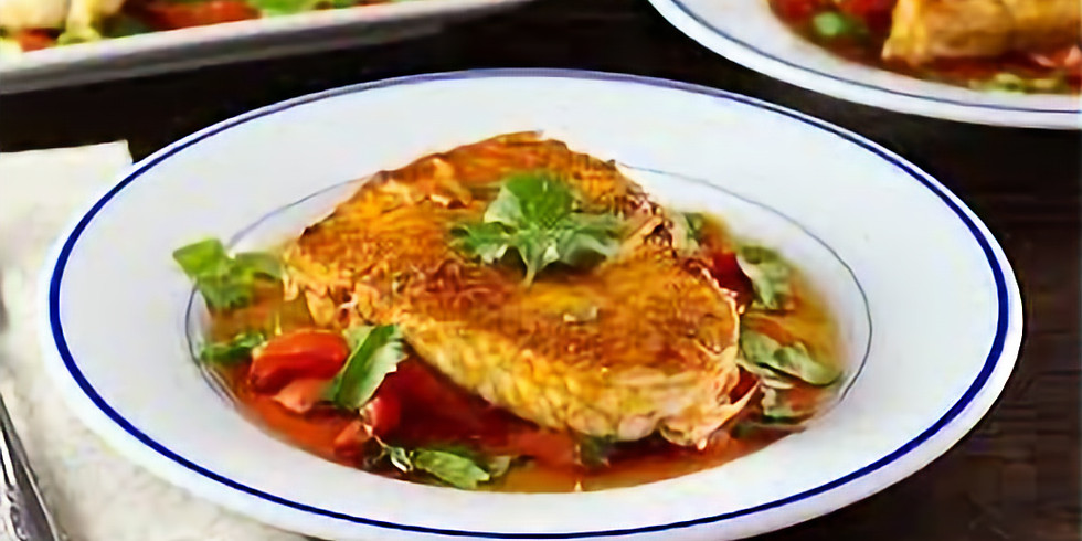 Sephardic Learning Kitchen -- Moroccan Fish with Ruti Younker