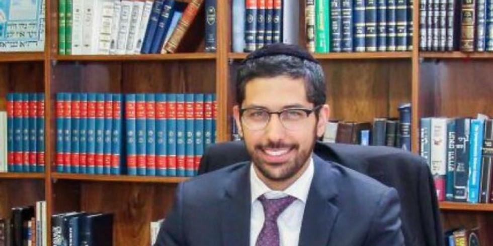 Rabbi Candidate David Benchlouch Q&A session