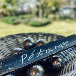 Petanque in the Main House