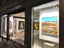 Window of the Group Show, Clarendon Fine