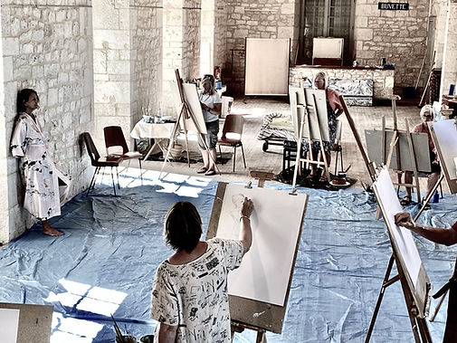 RESIDENTIAL ART COURSES