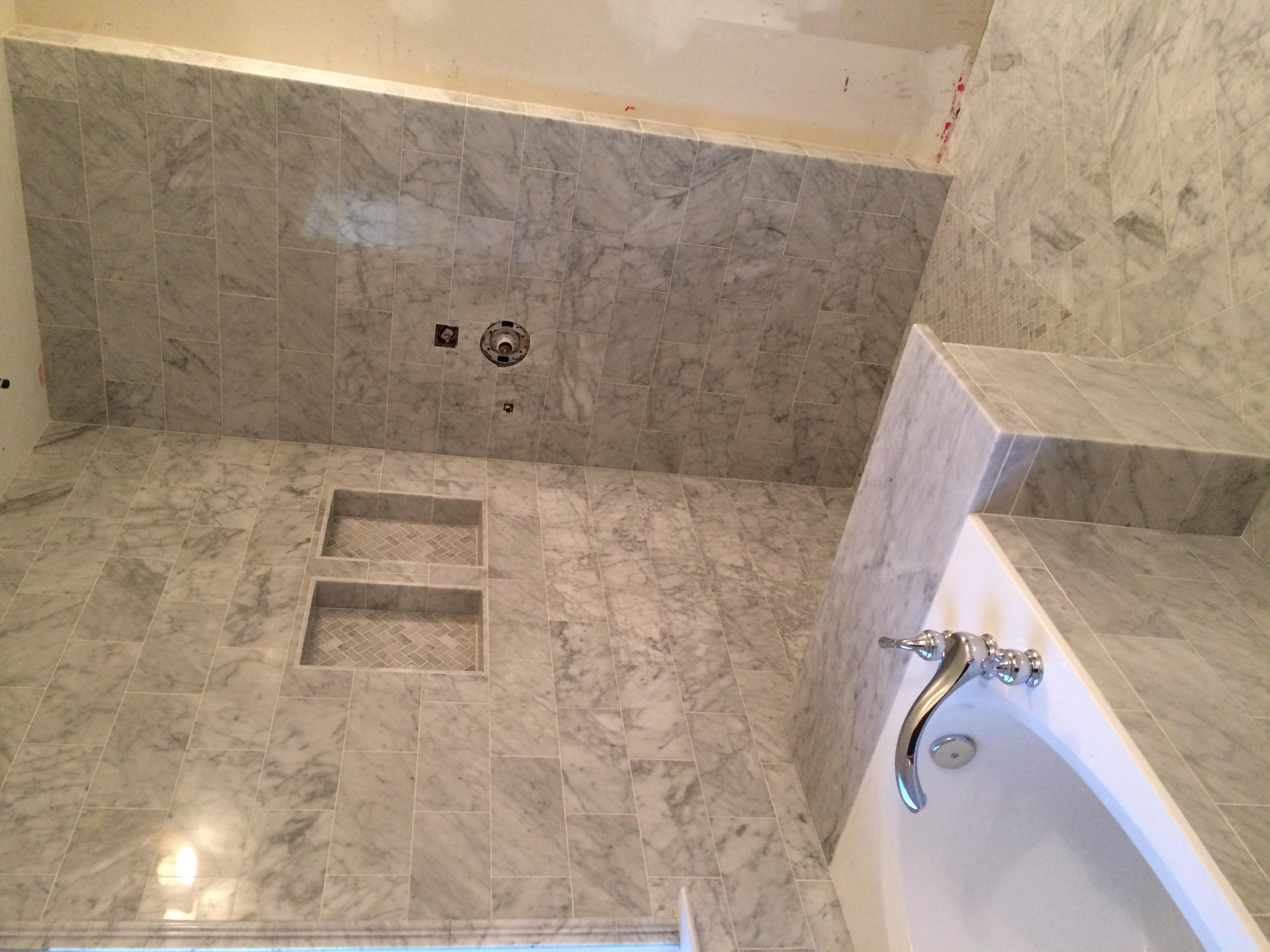 Bathroom Wall & Floor Tile, Niche
