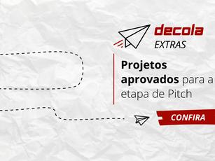 14 projetos são selecionados para a fase de Pitch e vão concorrer ao apoio de até R$ 25 mil reais!
