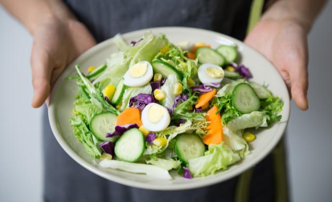 Pas que des feuilles vertes: Jolies salades d'été