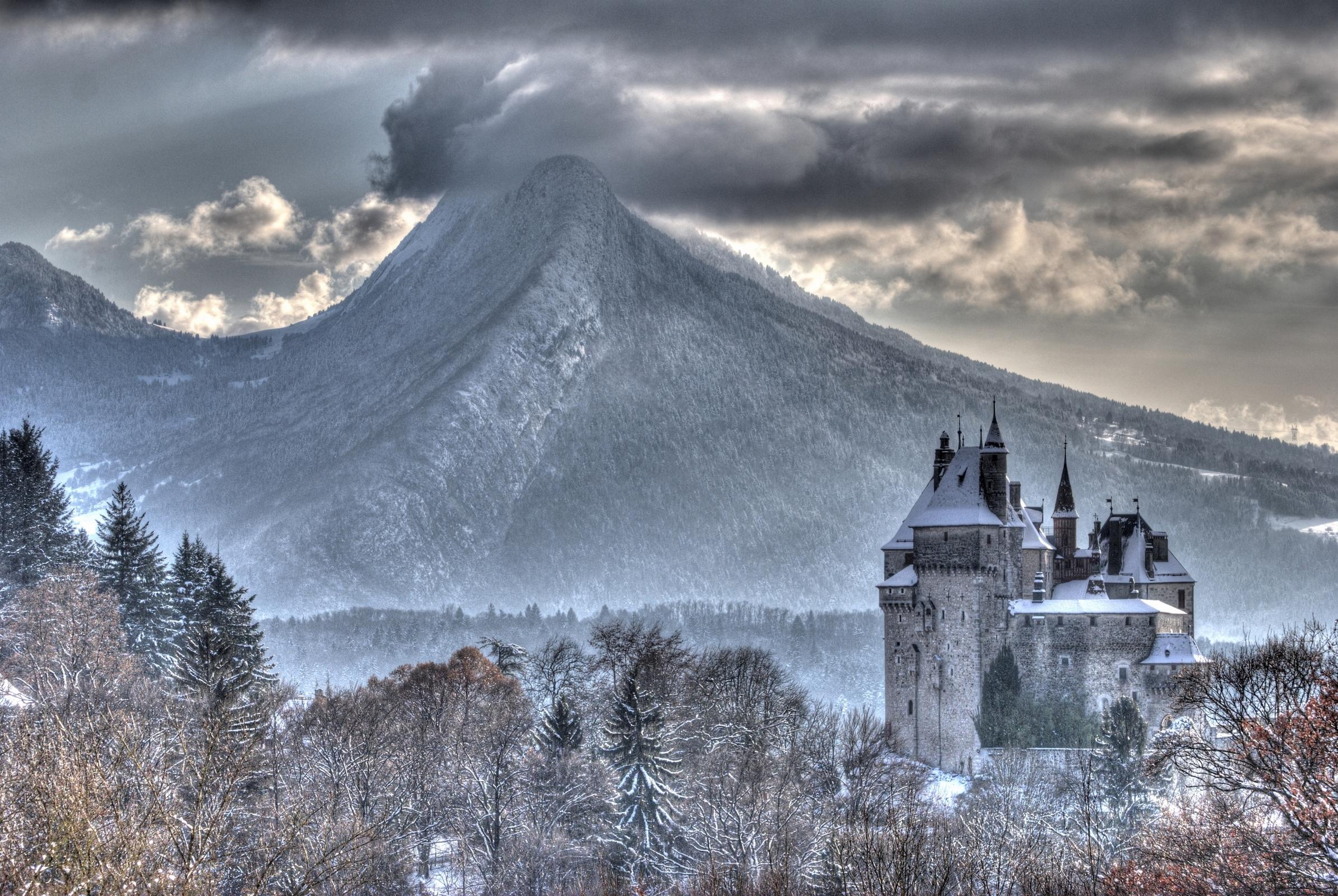 Chateau de Menthon - HDR